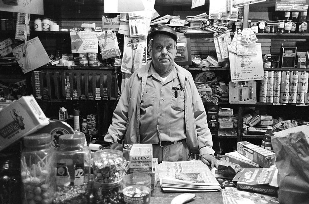 General Store Owner, Eunice, LA, 1977