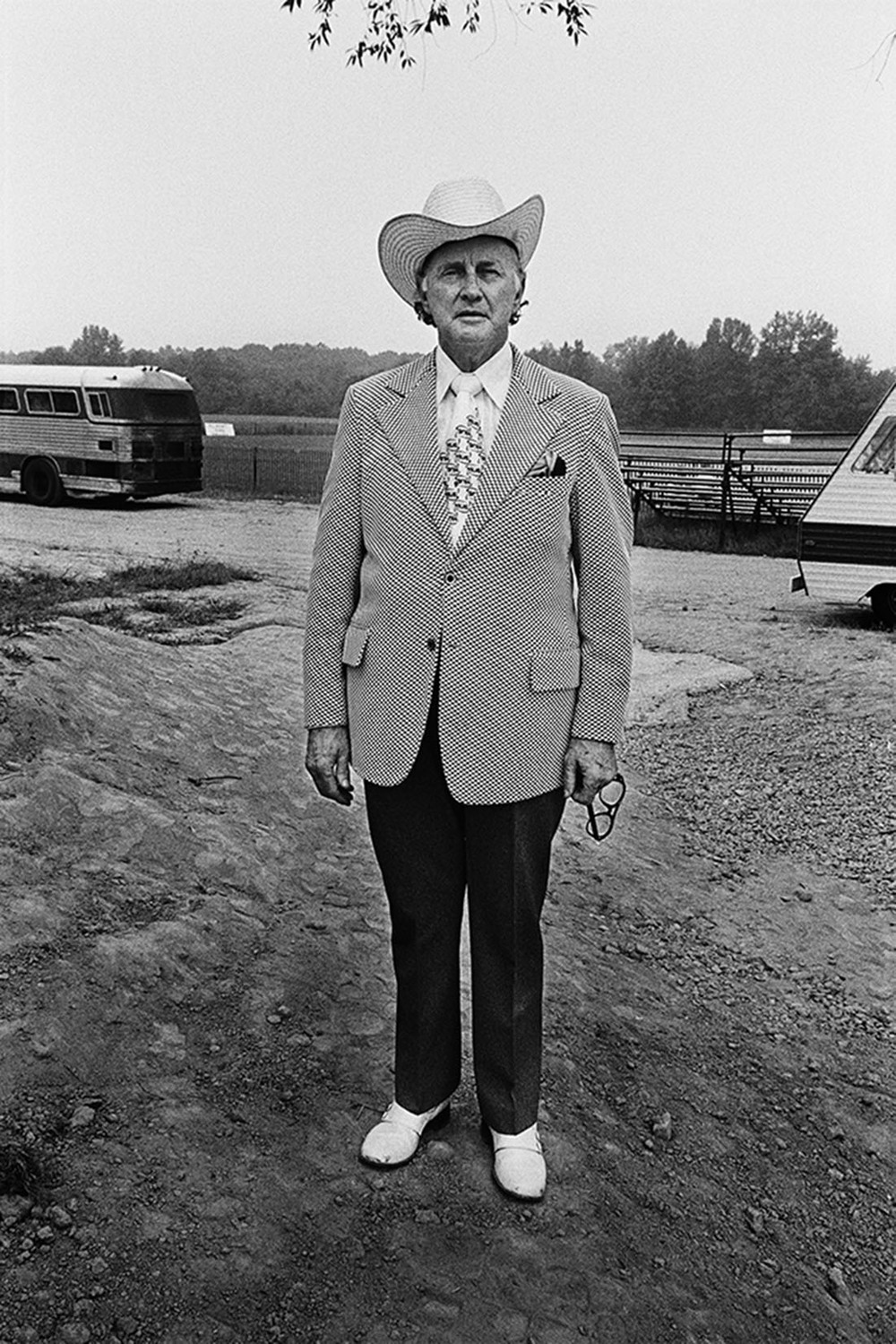 Bill Monroe, Take It Easy Ranch, Callaway, MD, 1973