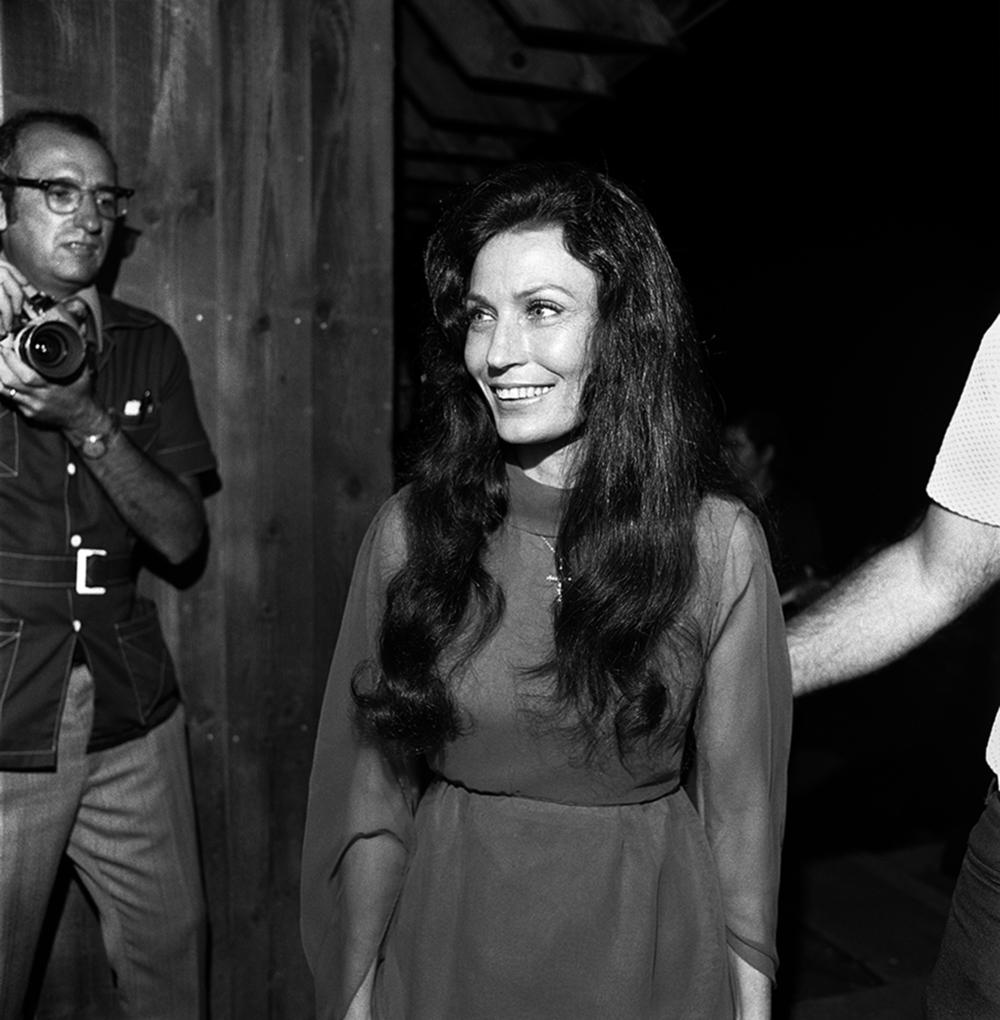 Loretta Lynn, Backstage, Annapolis, Md., 1975