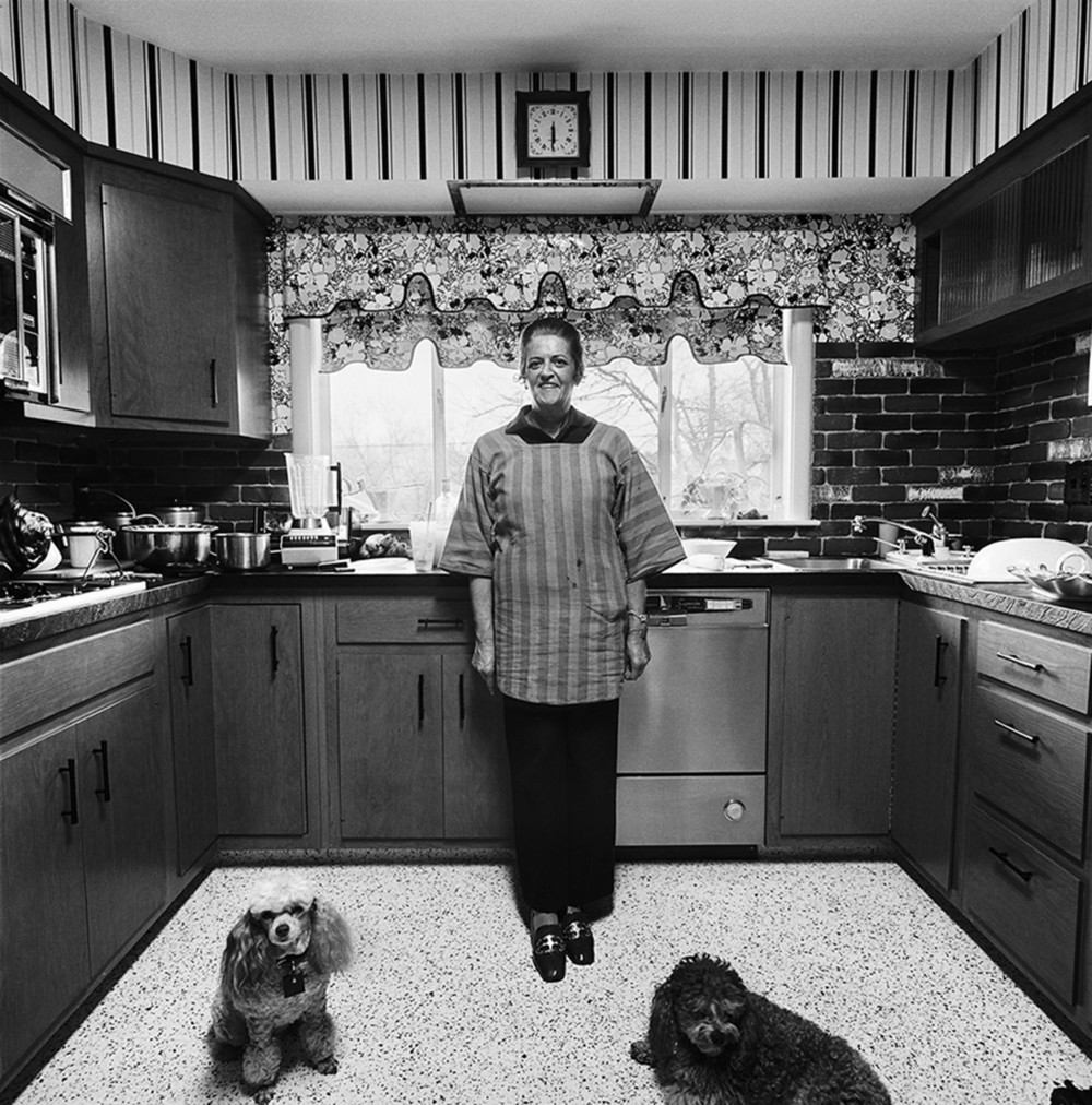 Mom in Kitchen, Newton, MA, 19TK