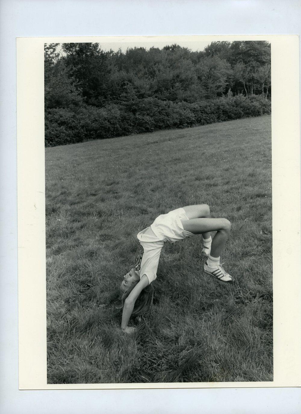 Somersault, LeFoyer Picnic, Cumberland, RI, 1979