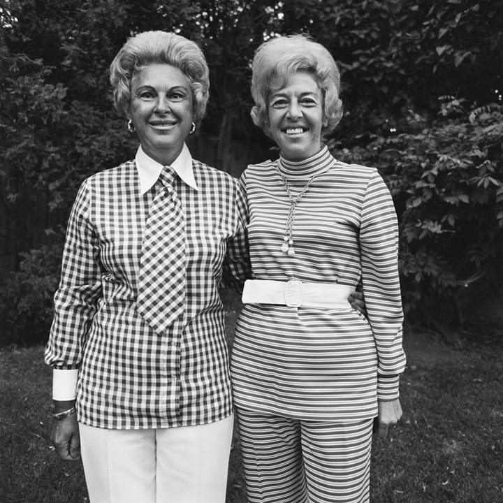 Hosts, Charity Party, Newton, MA, 1972