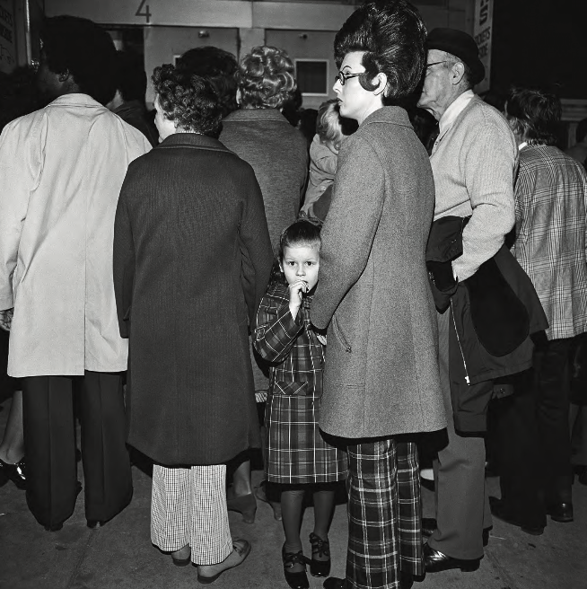 Waiting in Line, Grand Ole Opry at Ryman Auditorium, Nashville, TN , 1974