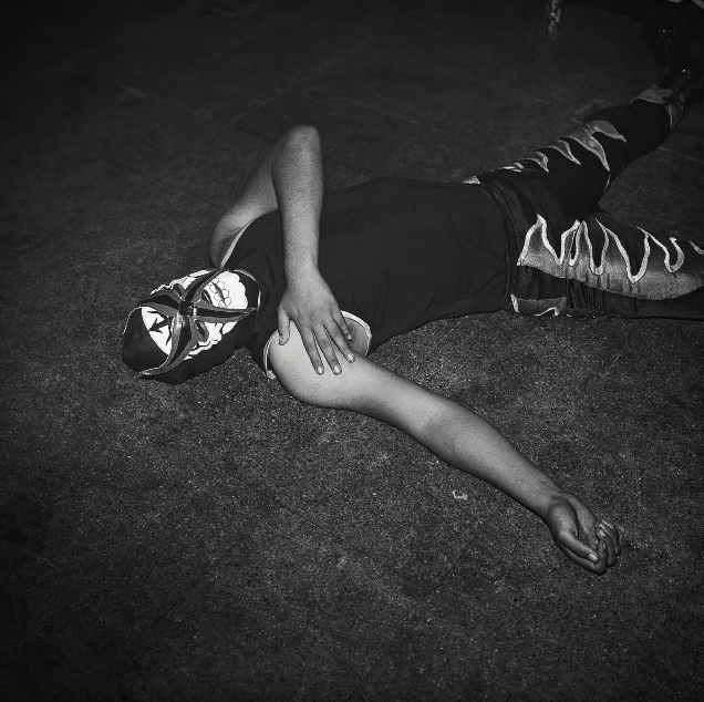 Wrestler Down, Guatemala City , 2010