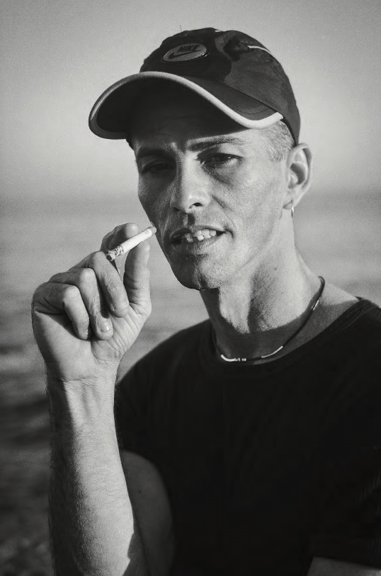 Man with Cigarette, Malecón, Havana , 2000
