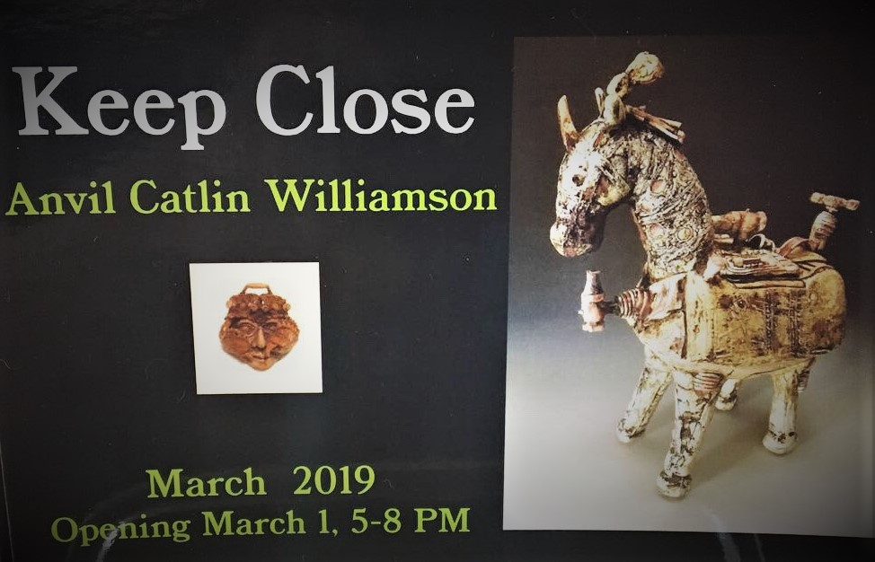 Keep Close - First Friday Opening March 1st 5-8pm2 Street Gallery535 2nd Ave, Fairbanks, AK 99701March 1 - April 3, 2019Small Solo Exhibition