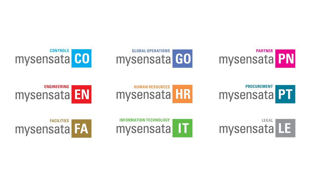 mysensata logo template