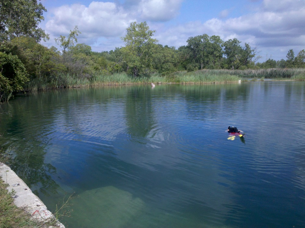quarry surveys being done for a private water company