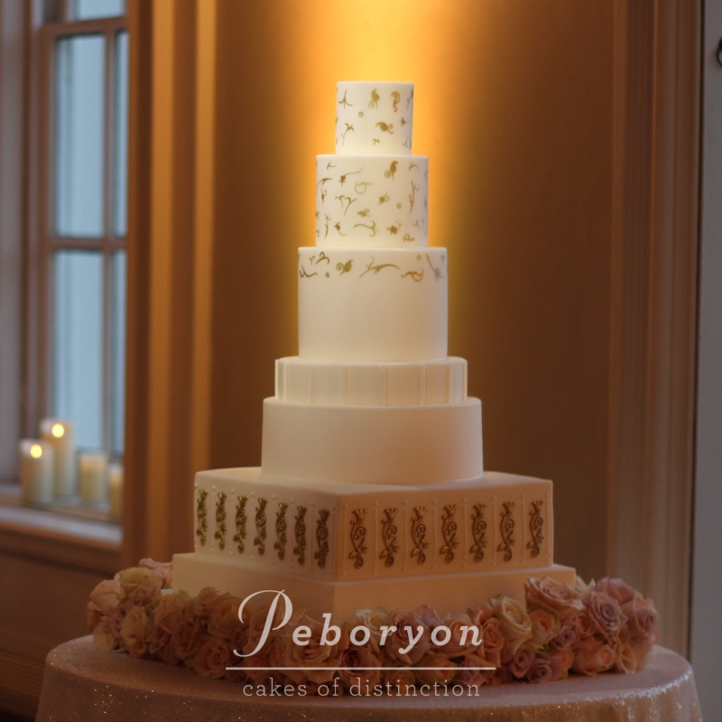 October-2016-Queens-House-London-Peboryon-Wedding-Cake-Tulip-Ceiling-Cake.jpg