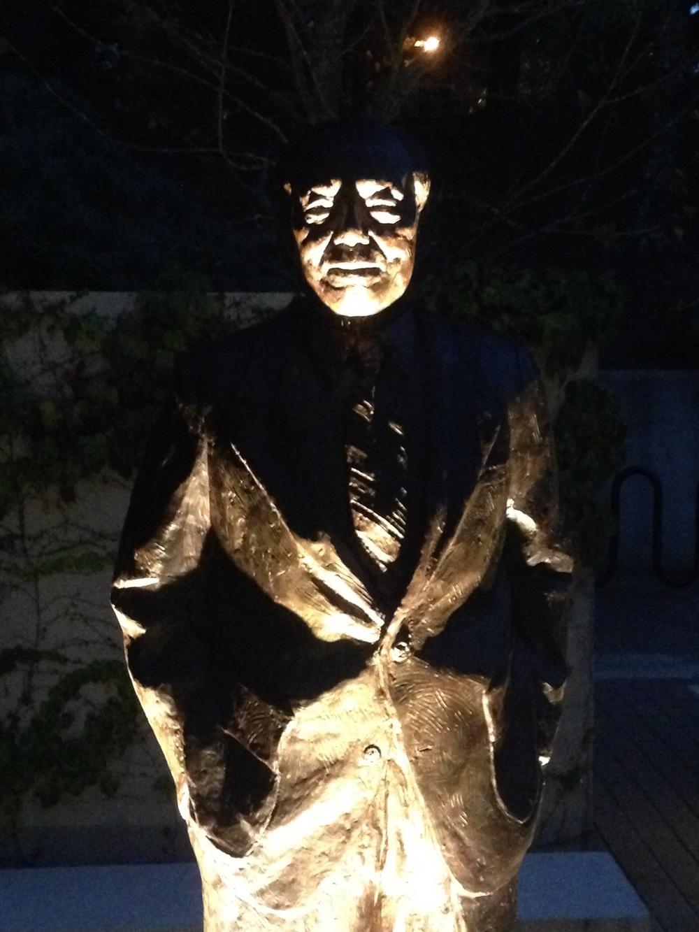 Statue outside MSRI