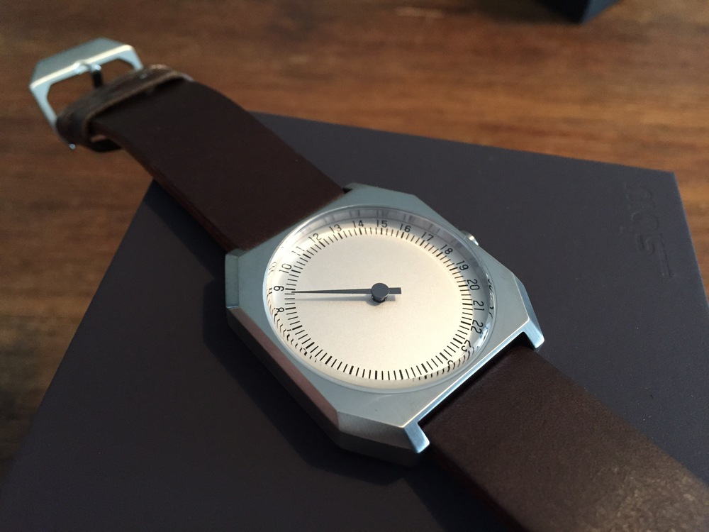 Here's my new watch -  a birthday present after months of pining