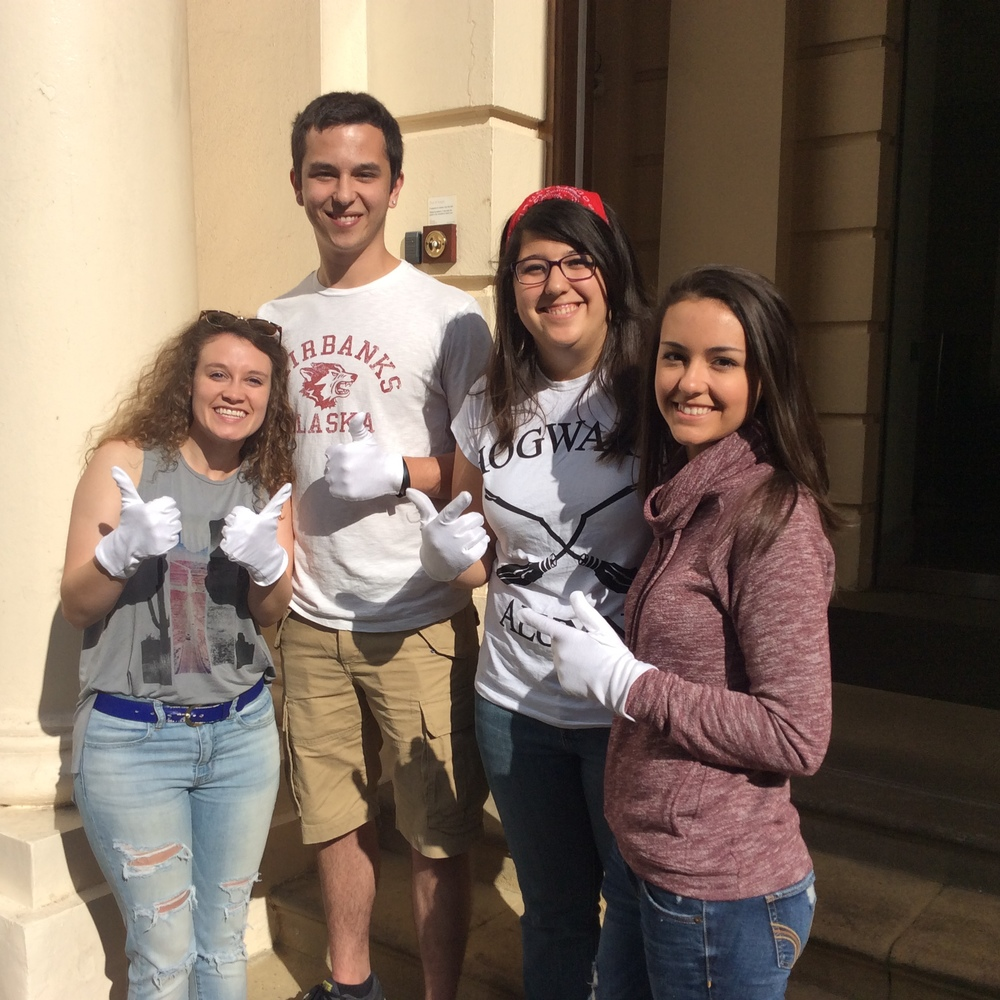 Megan, Travis, Rebecca and Emily from Dallas and San Antonio Texas