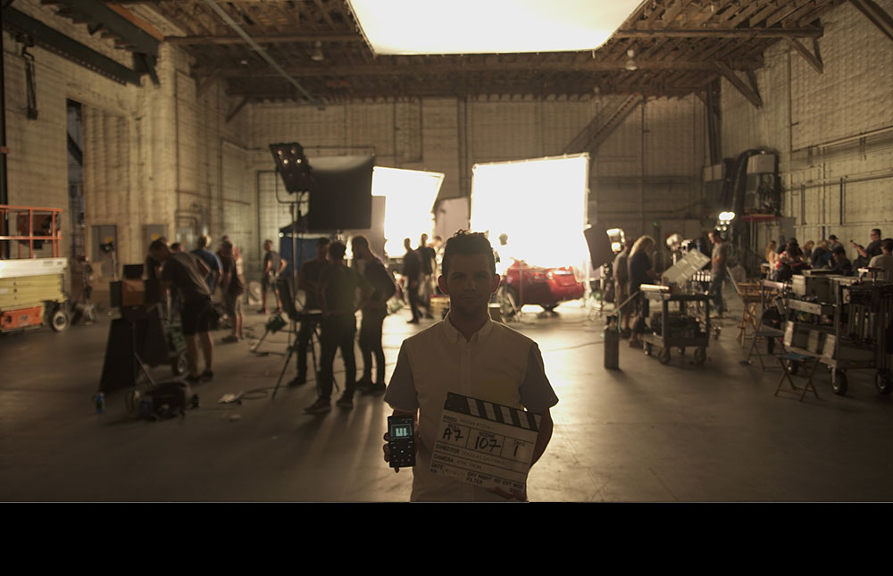 Douglas directs TV commercials