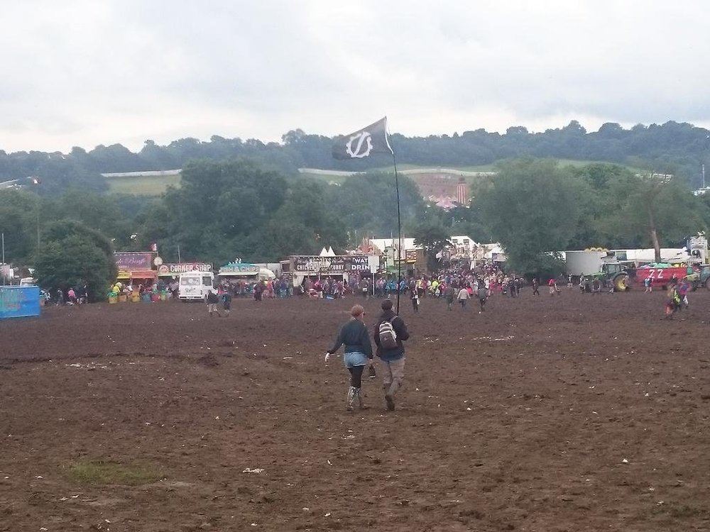 Spotted at Glastonbury