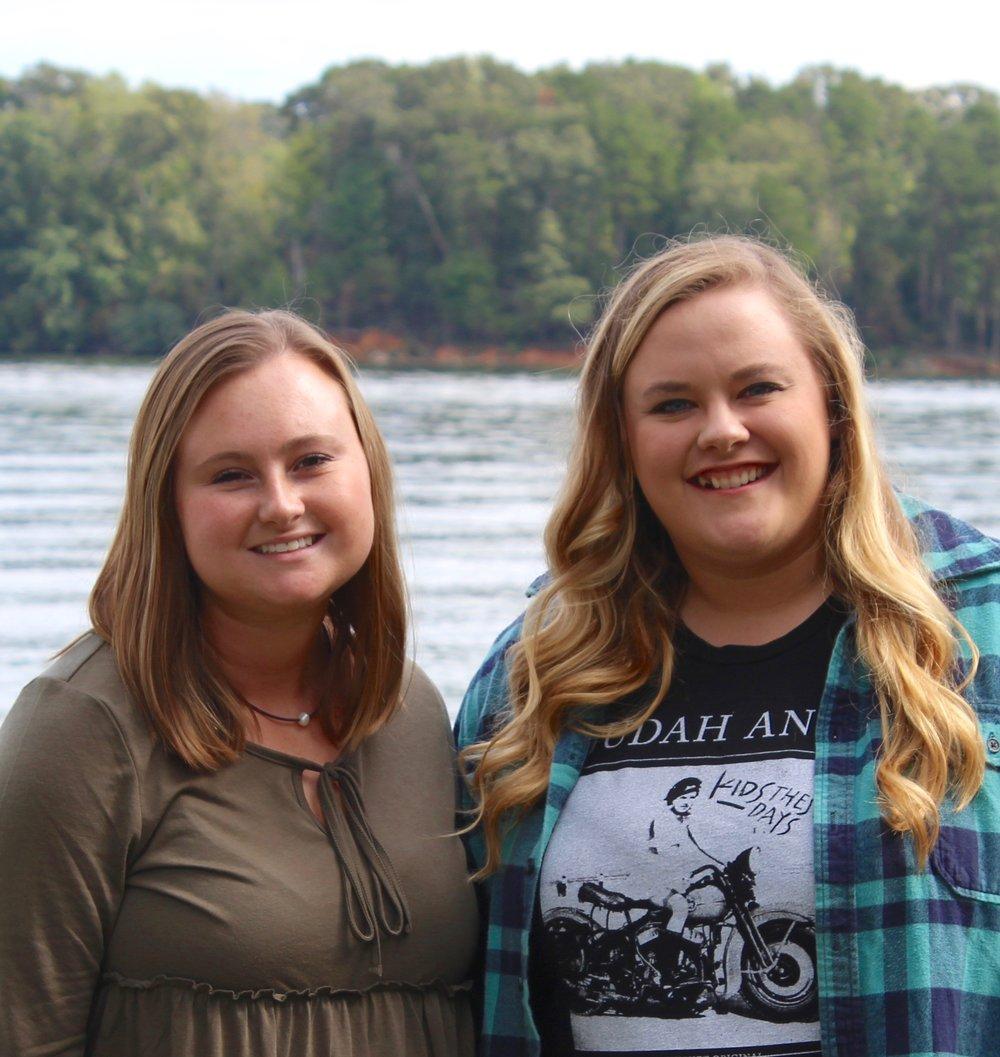 Anna Edwards & Hannah Sims