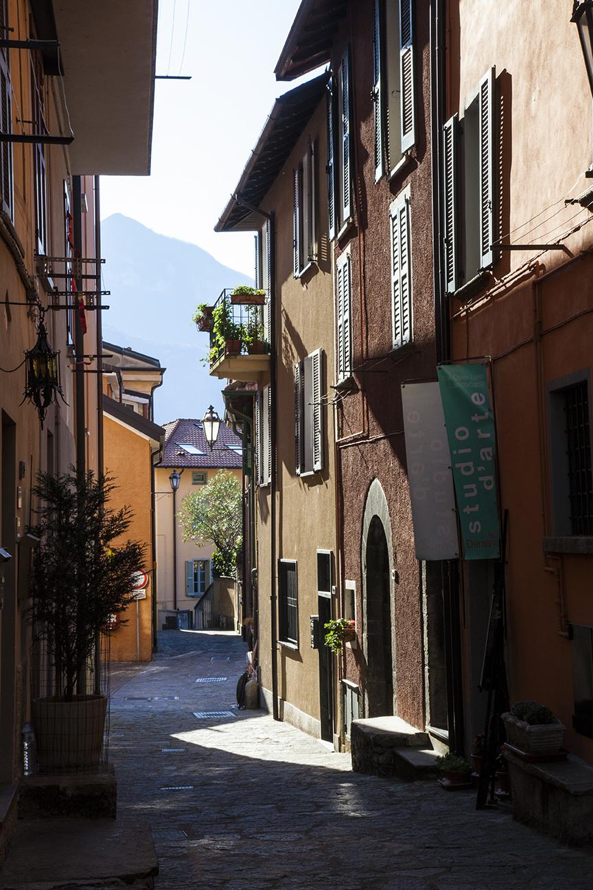 Streets of Varenna