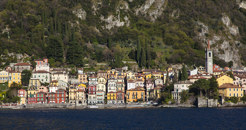Leaving Varenna