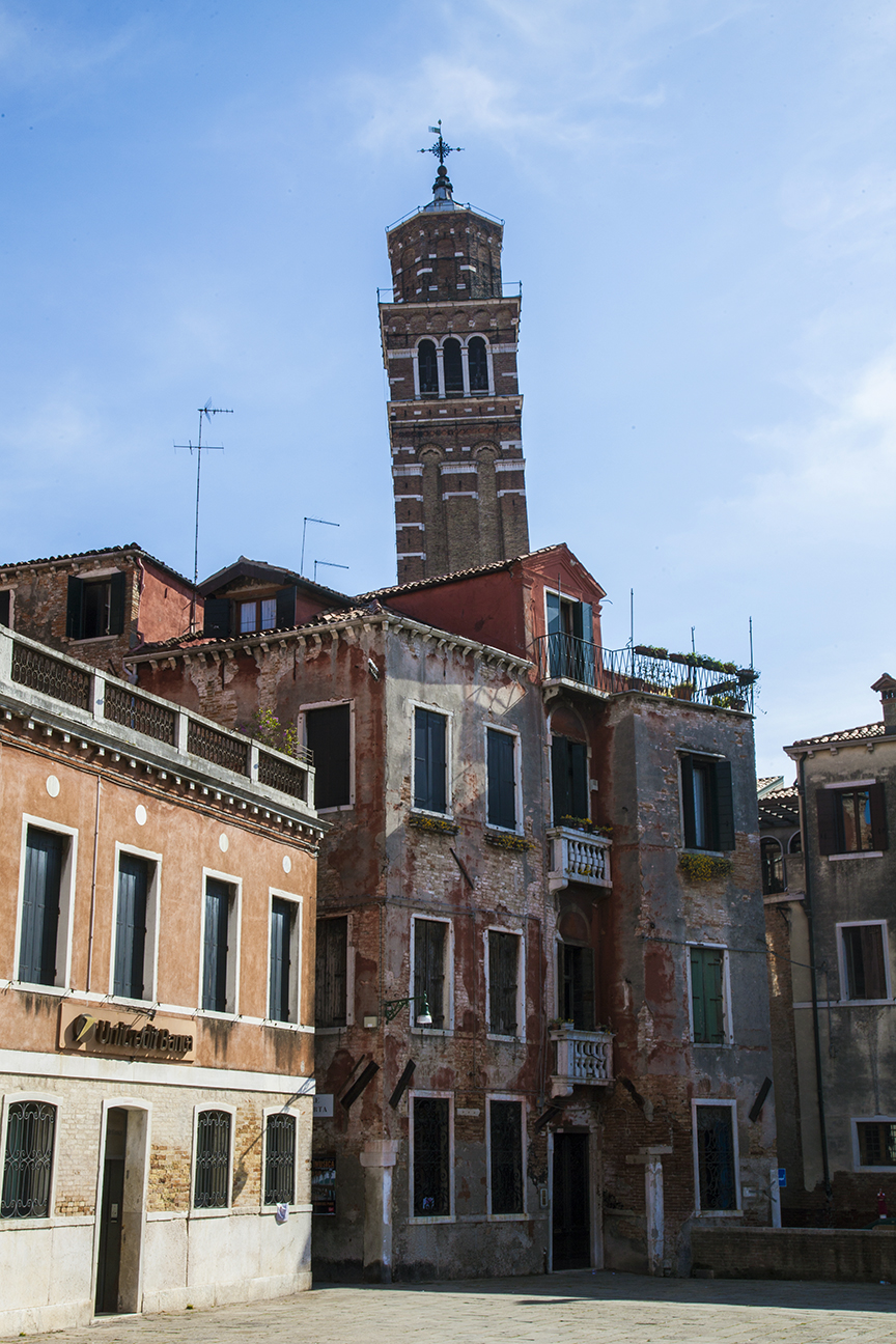 Leaning tower of Venice?