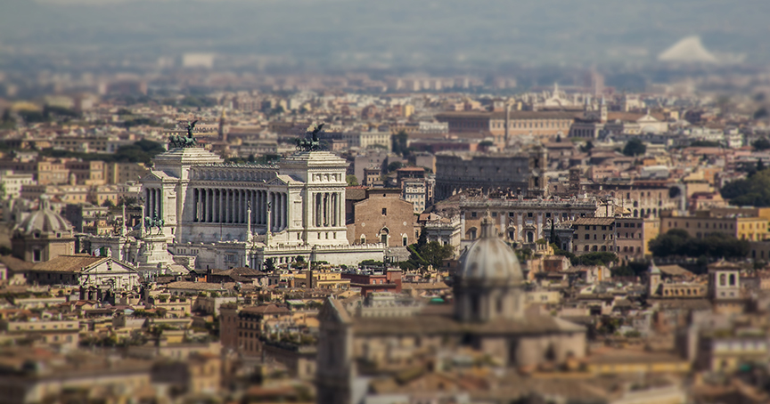 A silly tilt-shift