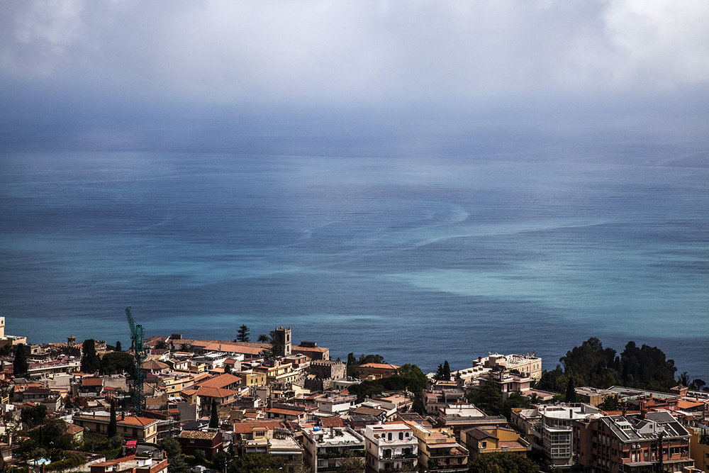 Taormina and the sea