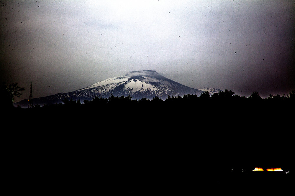Mt Etna. Thats definitely not dusts all over my sensor, it's, uh, volcanic debris… yeah