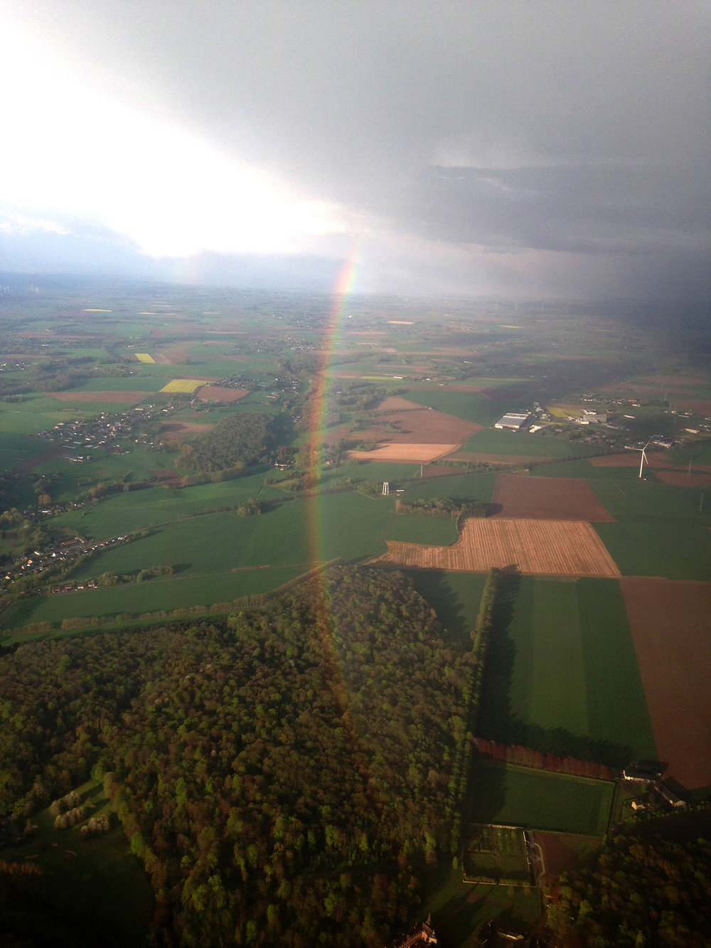 Landing in Belgium, welcome to the lowlands!