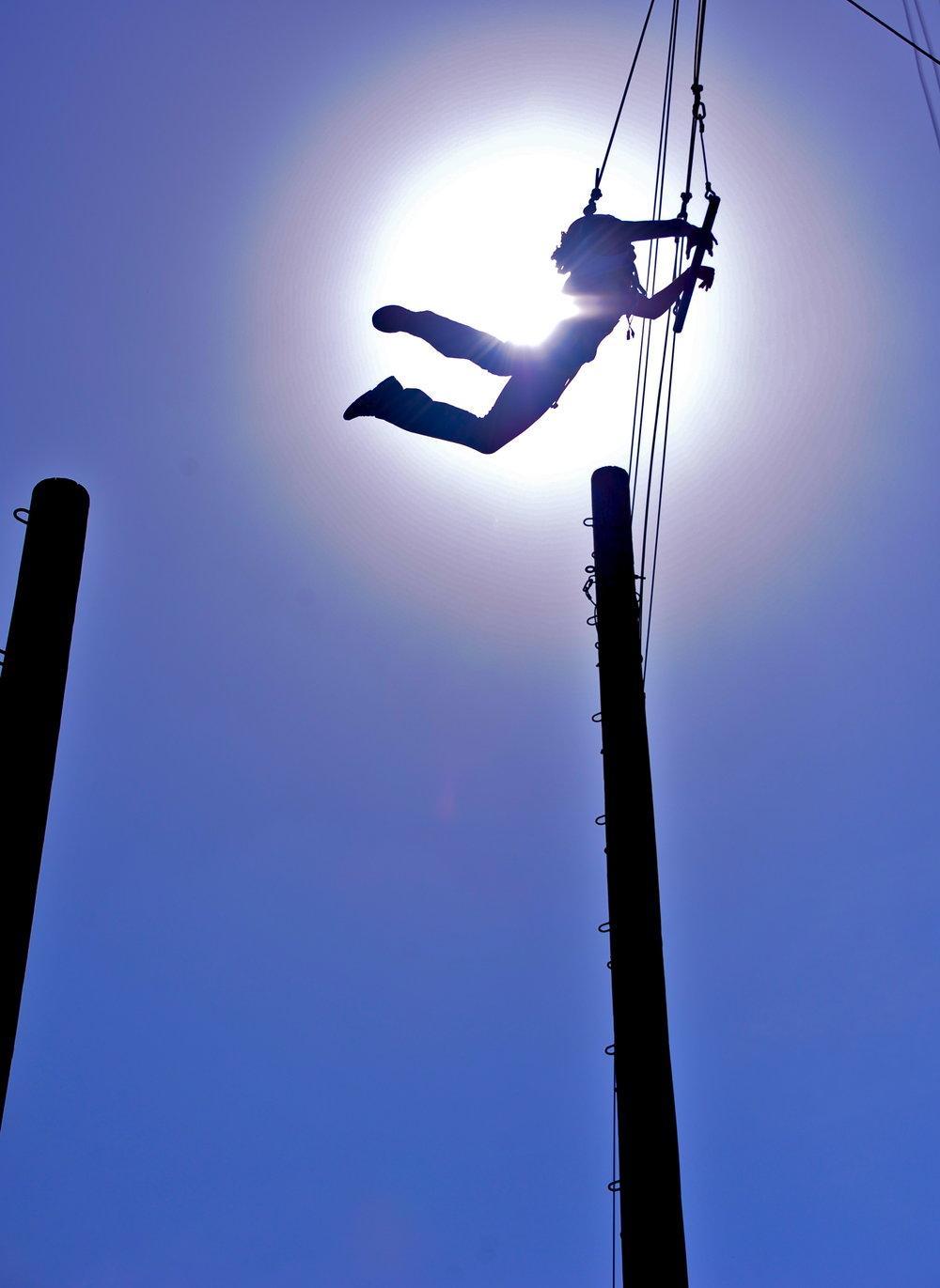 Fulcrum Team Building,rewarding jump off the leap of faith at Culver City  2.jpg