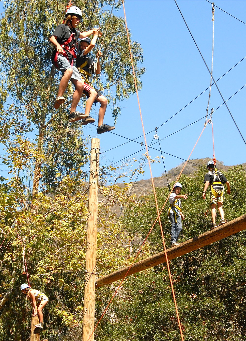 Hess Kramer ropes course two events.jpg