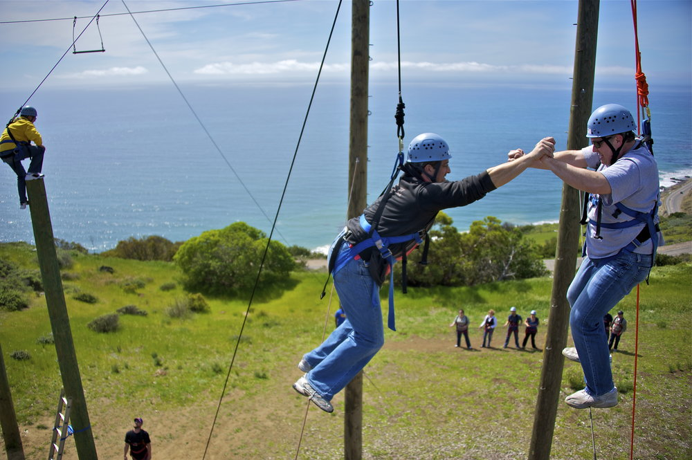 CBO Gindling Hilltop ropes course v and jump.jpg