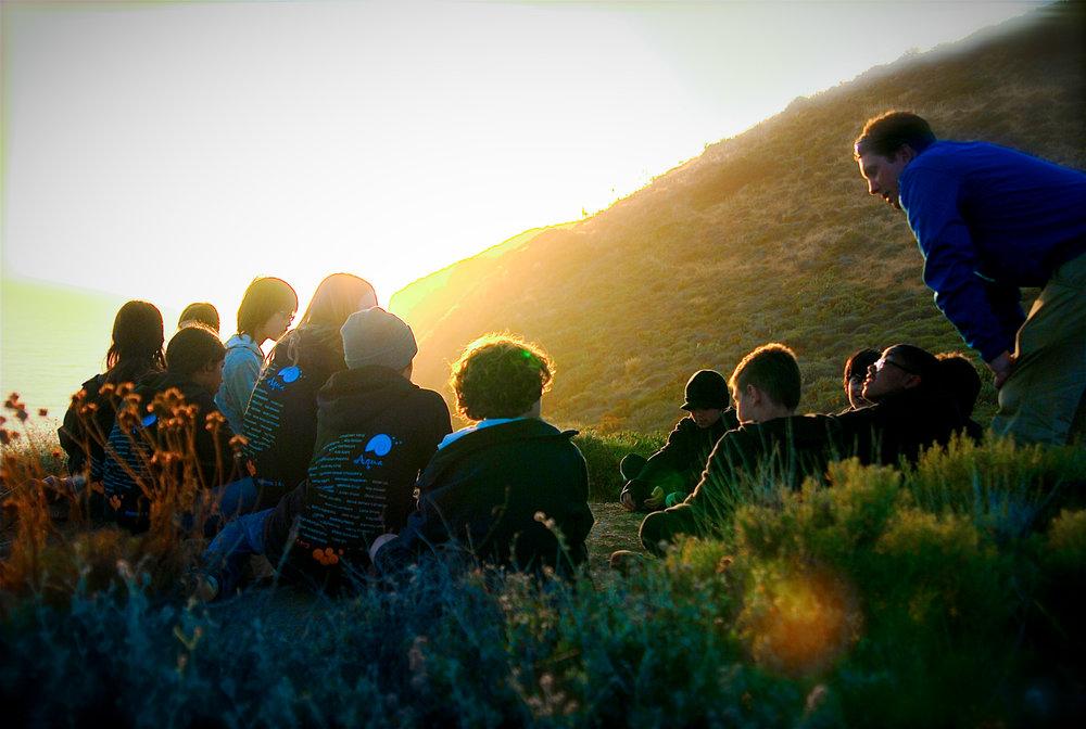 Gindling Hilltop debrief sunset.jpg