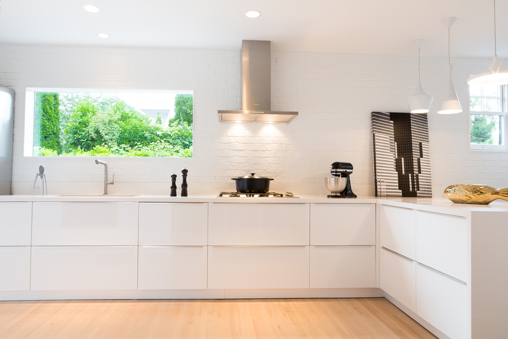 Modern Kitchen Old House seamless elegance — level one construction- vancouver home renovations