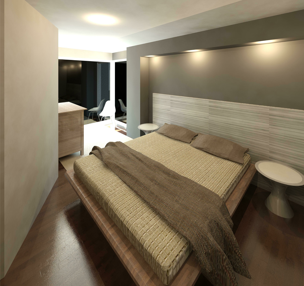 3D Render Image of the new bedroom