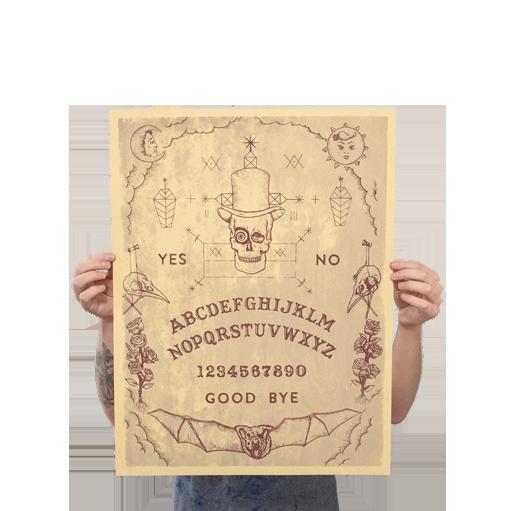 Ouija Print - $20.00