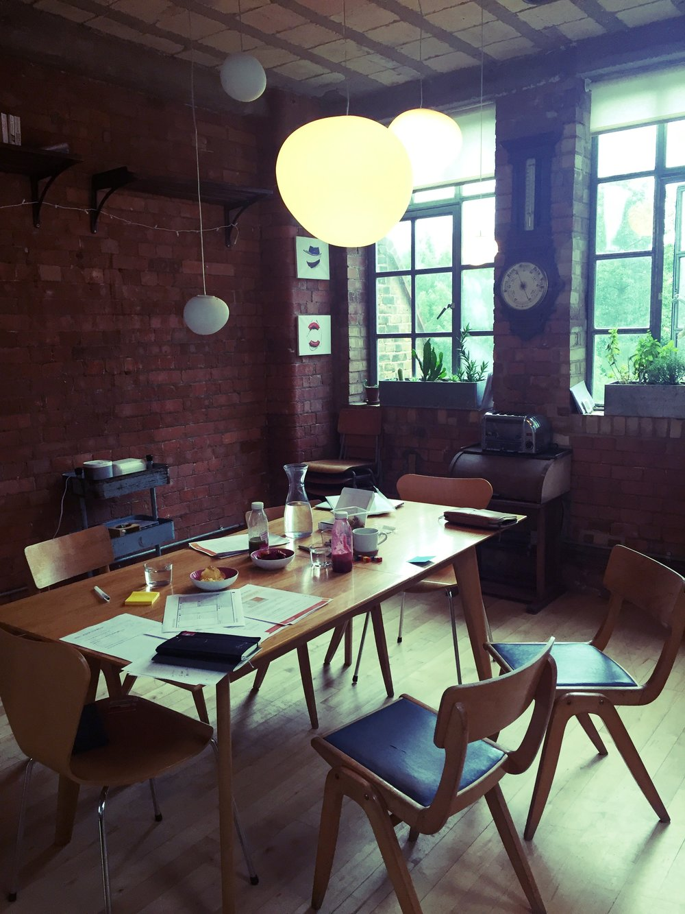 1-Day Intensive - A snapshot of our work station during the 1-Day Career Clarity session in London.