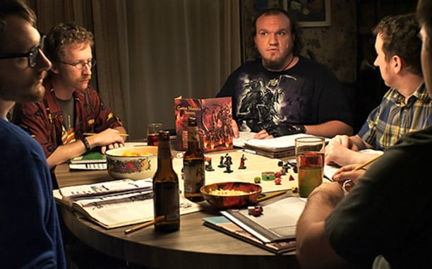 My classmates... just kidding.  Sort of.  http://www.ew.com/article/2013/10/10/zero-charisma-dungeons-dragons