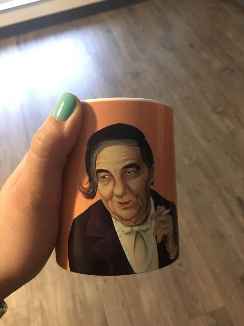 Hipster Golda, mug courtesy of Merav