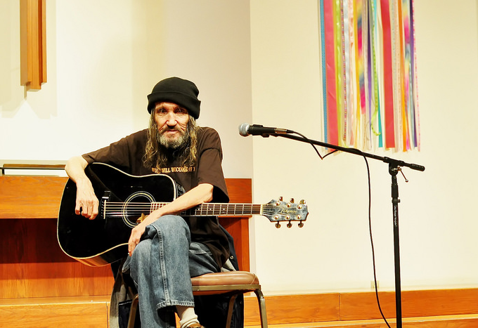 Jimmy Rienzo, guitarist and speaker