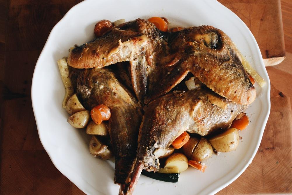 A Guinea Fowl Recipe