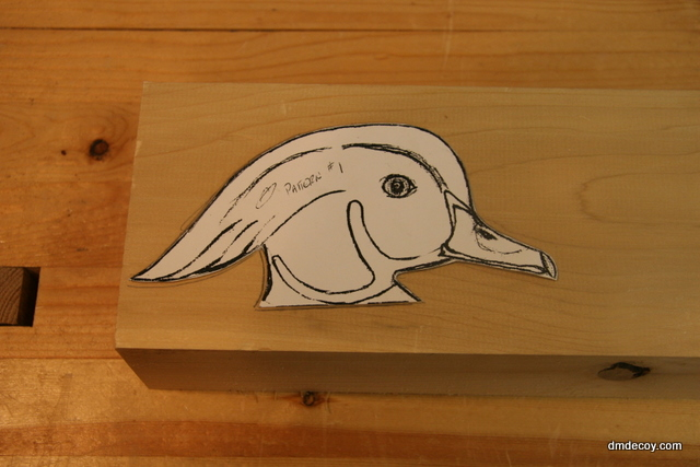 how to carve a head out of wood 2