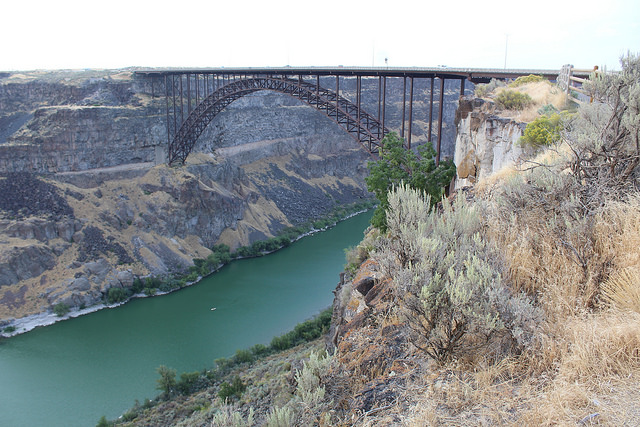 Just imagine trying to build that bridge if the other side of the canyon hated you.