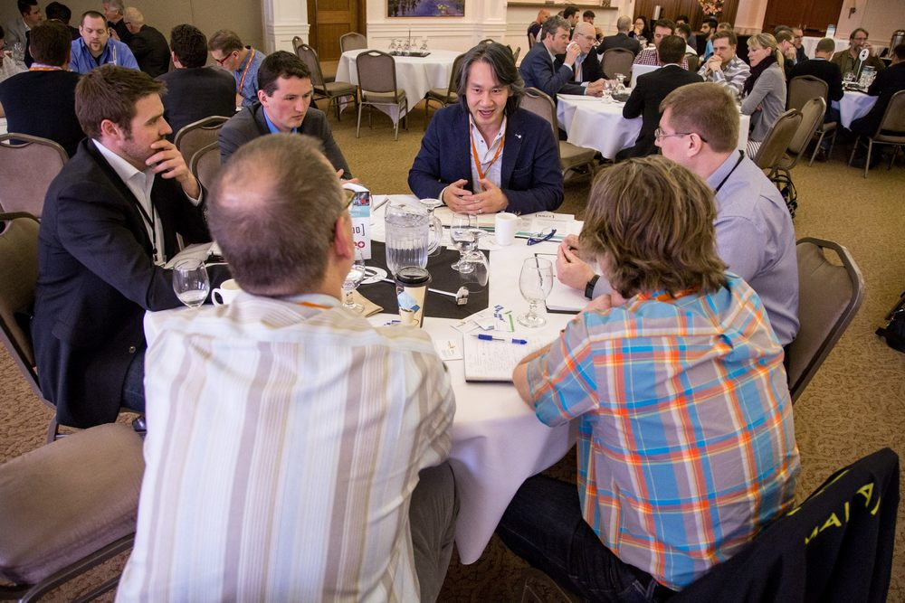 If you're looking to take your startup to the next level, the AccelerateAB Roundtables are the place to be.