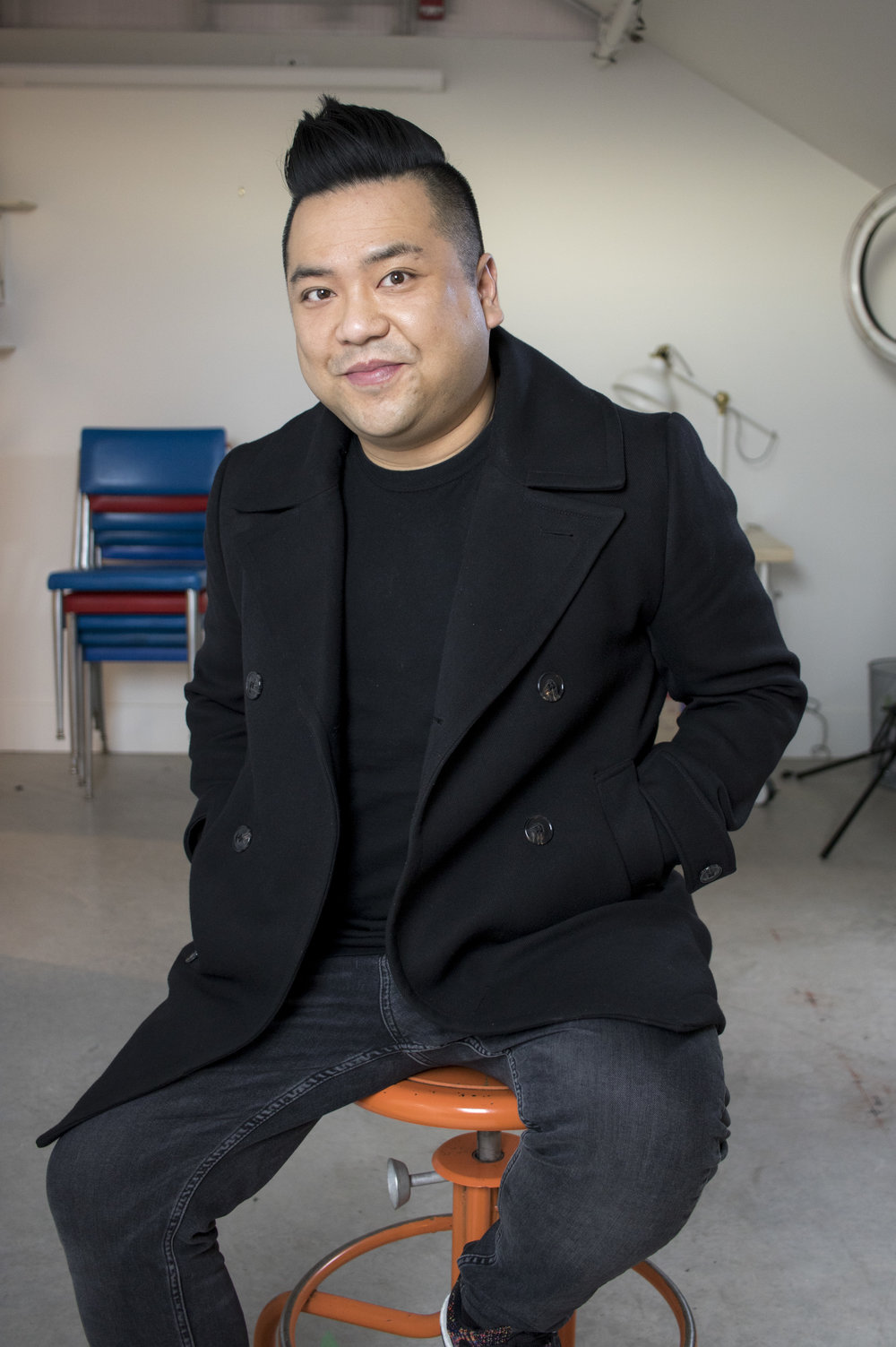"""Andrew Phung, Actor, CBC's """"Kim's Convenience"""""""