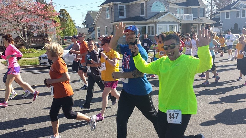 May 2, 2015 - River To Bay 5K in Island Heights, NJ - Greg's first 5K