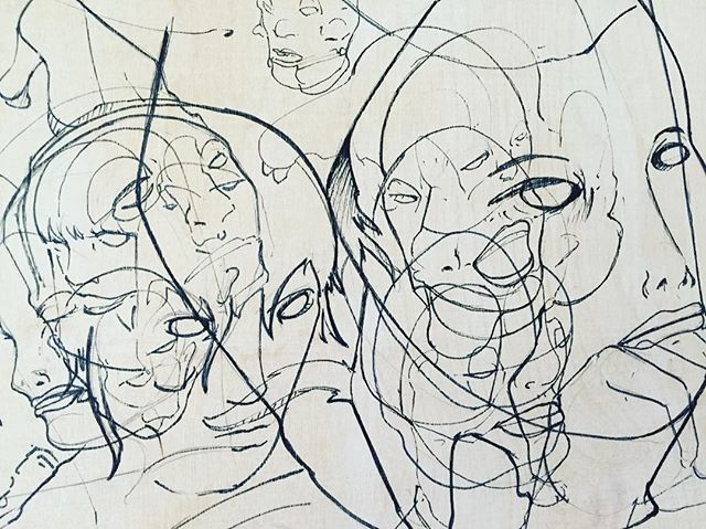 #contemporaryart #visualart #drawing