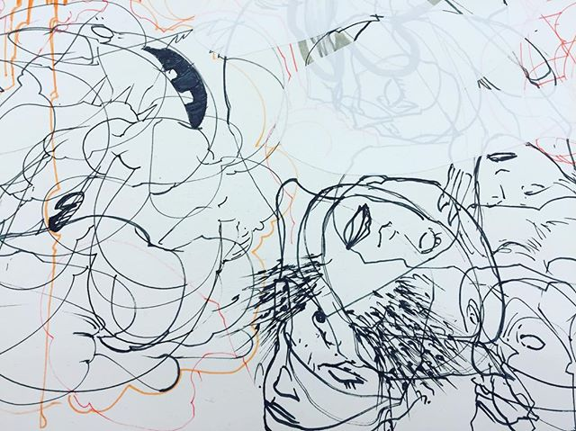 #contemporaryart #visualvernacular #drawing