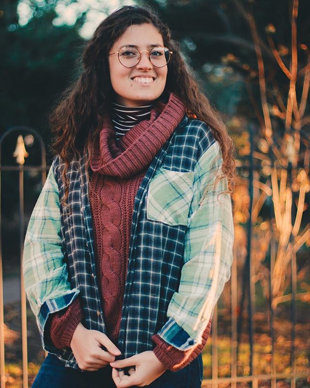 One of those flannels you won't want to take off — trust us! The Garnet Flannel // $25 // A super soft flannel that has swapped sleeves, cuffs, and pocket. 🤩⚡️ Check it out on the Mended Threads East tab of our website!