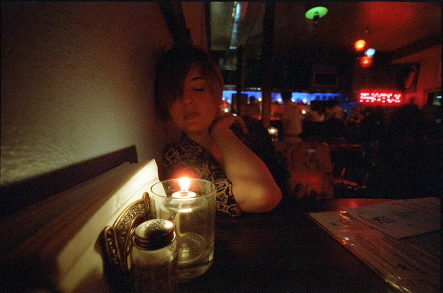 CineStill 800T tungsten film pushed to ISO 1600