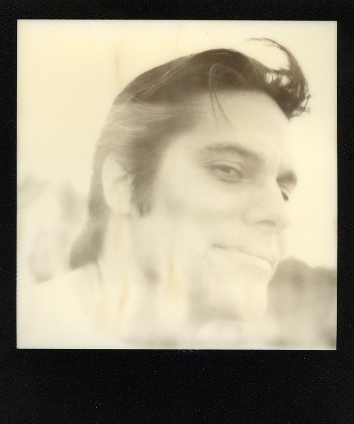Impossible Project Polaroid Instant Film with a 600 OneStep Camera.