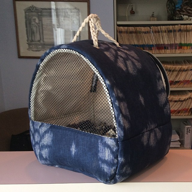 #cat #carrier #comfort #craft #handmade #veterinary #pet