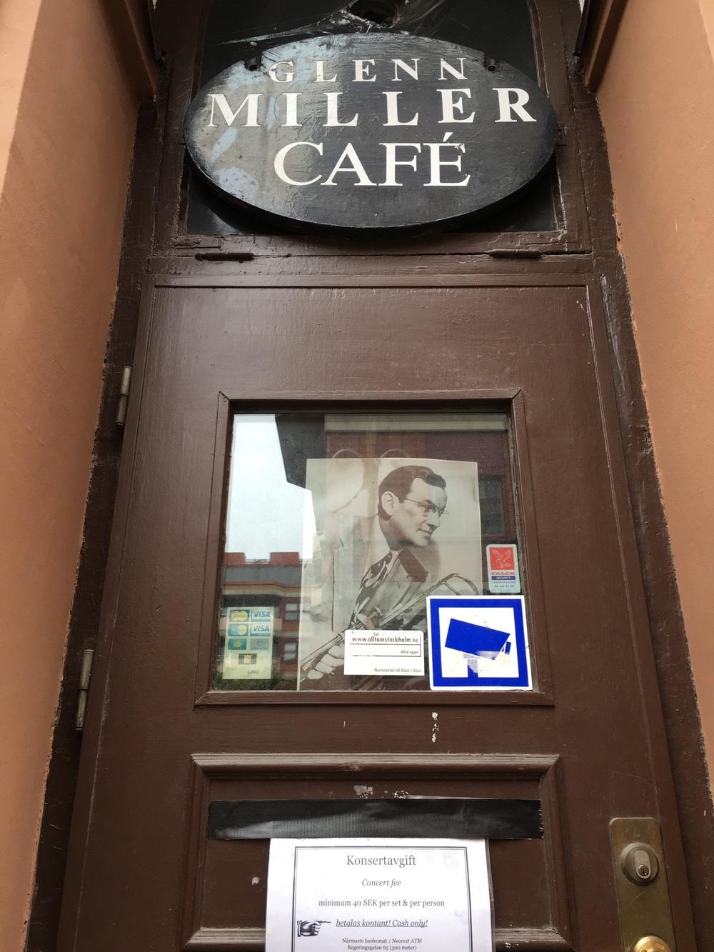Glenn Miller Café, Stockhoolm